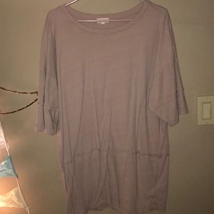 Oversized baby pink tunic size small